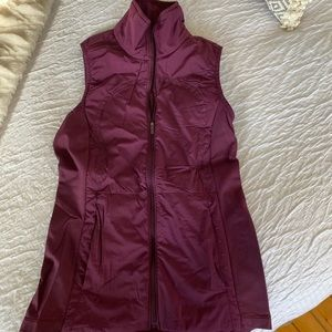 Never worn lululemon running vest